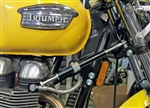 Triumph Steering Damper Kit for Bonneville Thruxton Scrambler T100 ** BLACK **