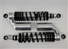 TEC Alloy Remote Reservoir Shocks for water-cooled Triumph T120 - All Years - with ADJUSTABLE DAMPING