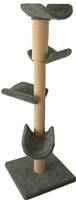 Play Perch Quatro Cat Tower w/ (4) Cat Perch