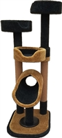 K3B Luxury Cat Tower w/ (3) Cat Bed