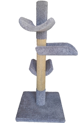Play Perch Triplex Cat Tower w/ (3) Cat Perch