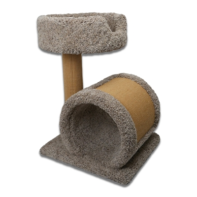 STB Cat Play Tunnel w/ Bed