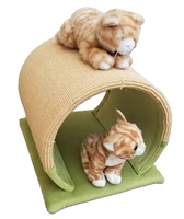 ZenByCat Scratching Cat Tunnel (No Carpet Rim)