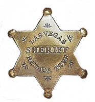 Las Vegas Sheriff Brass Badge