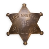 Los Angeles Police Brass Badge