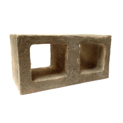 Break-A-Way Cinder Block