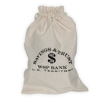 Old West Money Bag