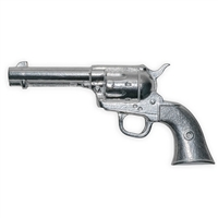 Non-Firing Western Gun - Solid Polished Aluminum