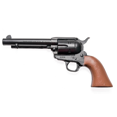 "Single Action Revolver with 5 1/2"" Barrel Rubber Gun"