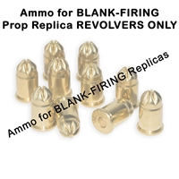 .380 Blank Ammuntion, available in Full Load, Half Load, Primer and Full Load with Smoke