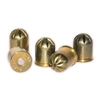 .45 Cal Brass Blank Ammunition Quarter Load (25)