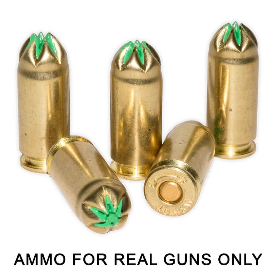 40 S&W Brass Blank Ammunition (50)