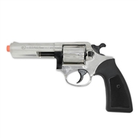 .357 Police Special Blank-Firing Revolver - Nickel Finish - Front Fire (.380 cal)