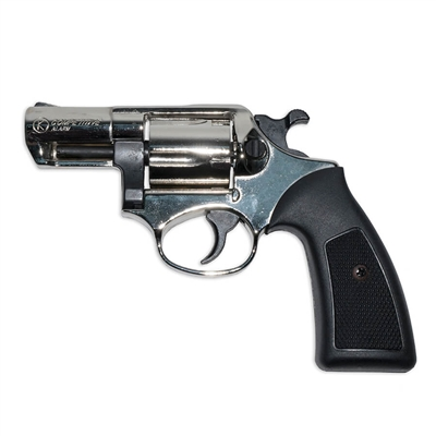 .357 Detective Special Blank-Firing Revolver - Nickel Finish (.380 cal)