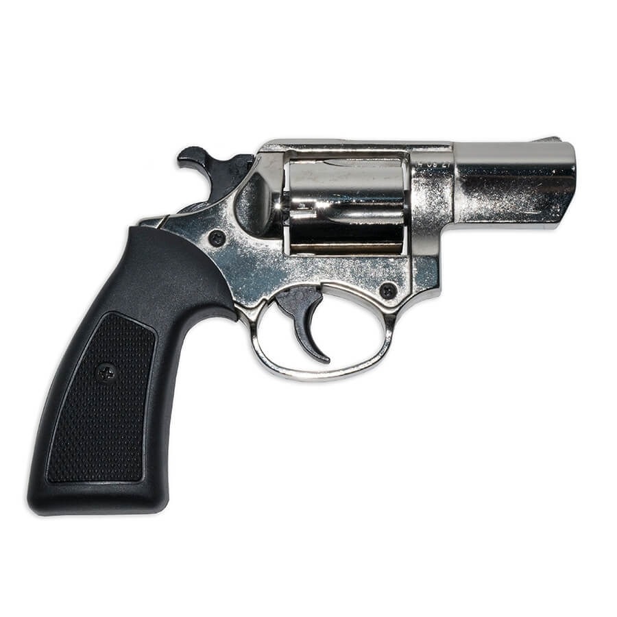Blank Firing Gun  357 Detective Special - Chrome Finish