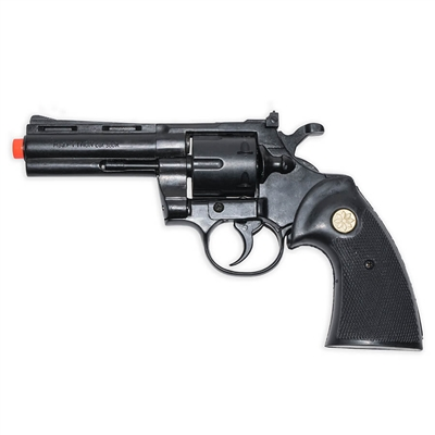 "Python 4"" Blank-Firing Revolver - Blued Finish"