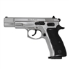 CZ 75 Blank-Firing Semi-Auto Pistol - Chrome Finish