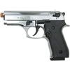 Ekol Dicle 8000 - Front-Firing Semi-Auto Pistol - Nickel Finish - 9mm PAK