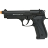 Jackal Dual Magnum - Full Automatic - Front-Firing Blank-Firing Pistol - Black Finish - 9mm PAK