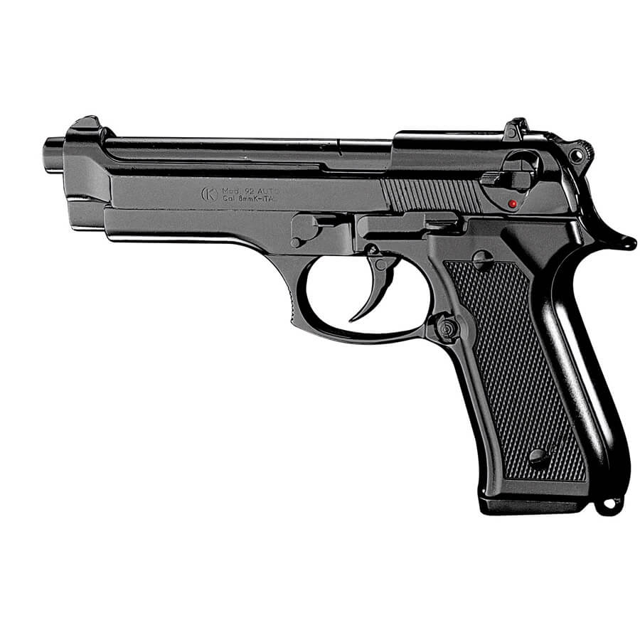 Beretta 92F Blank-Firing Semi-Auto Pistol - Blued Finish