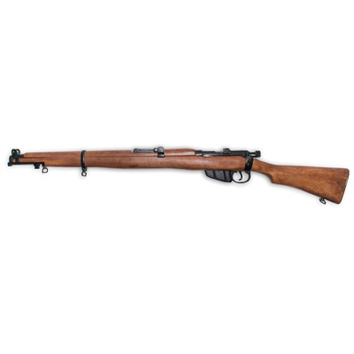 The Lee-Enfield is a bolt-action magazine-fed repeating rifle which served as the primary firearm for British and commonwealth soldiers for the first half of the 20th century. Perfect for WWI and WWII recreations .