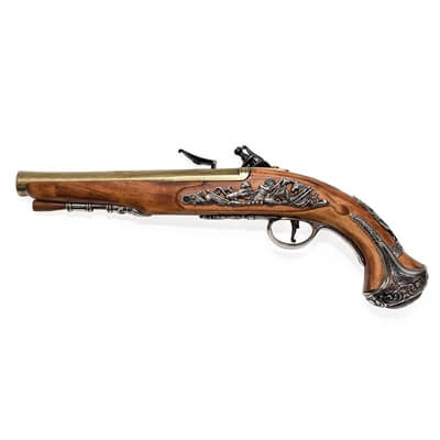 Replica George Washington Flintlock Pistol
