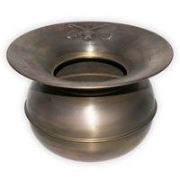 Old West Brass Spittoon by Western Stage Props
