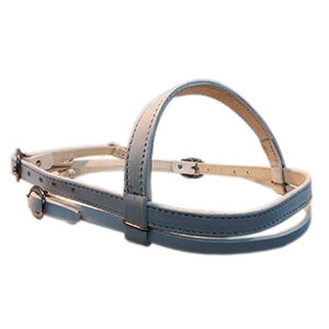 Headstall (White Leather)