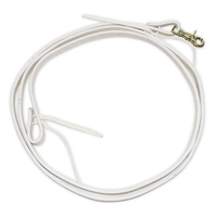 Contest Style Reins (White Leather)