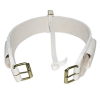 Rear Flank Cinch (White Leather)