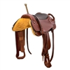 Trick Riding Saddle - Brown