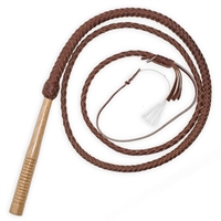 Wooden Handled Whip