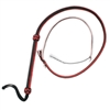 Durable 4-foot bullwhip, great for using in small spaces