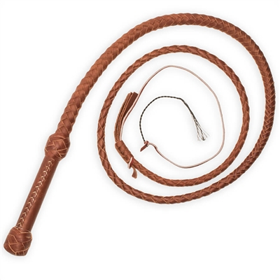 Swivel Handle Bullwhip made from cowhide