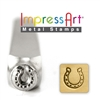 Impress Art Horseshoe Metal Design Stamp - SGSC1510-J-6MM