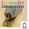 Impress Art Bird Cage Metal Design Stamp - SGSC1512-A-9.5MM