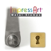 Impress Art Key Hole Metal Design Stamp - SGSC1512-C-4MM