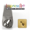 Impress Art Key Metal Design Stamp - SGSC1512-D-6MM