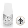 Impress Art Celtic Cross Metal Design Stamp - SGSC1515-G-6MM