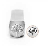 Impress Art Tree of Life Metal Design Stamp - SGSC156-AQ-6MM