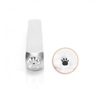 Impress Art Small Paw Print Metal Design Stamp - SGSC156-I-3MM