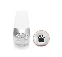 Impress Art Paw Print Metal Design Stamp - SGSC156-I-6MM