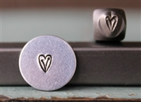 A Supply Guy Design - Heart Vine Metal Design Stamp - SGCH-181