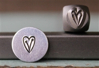 A Supply Guy Design - Heart Vine Metal Design Stamp - SGCH-182