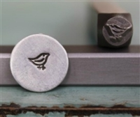 A Supply Guy Design - Little Love Bird Metal Design Stamp - SGCH-21