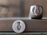 Brand New Supply Guy Design - 8mm Pineapple Metal Design Stamp - SGCH-243
