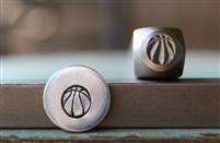Brand New Supply Guy Design - 6mm Basketball Sport Metal Design Stamp - SGCH-245