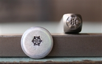 Brand New Supply Guy Design - 4mm Snowflake Metal Design Stamp - SGCH-256