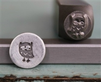 A Supply Guy Design - Owl Metal Design Stamp - SGCH-28