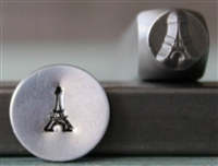 Brand New Supply Guy Design - 6mm Eiffel Tower Metal Design Stamp - SGCH-289
